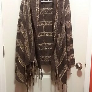 Free People Open Cardigan